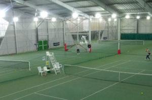 Éclairage LED Projectio Sports - Ligue de Normandie de tennis