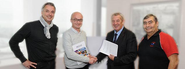 Partenariat NEOLUX LEDlighting solutions FFN