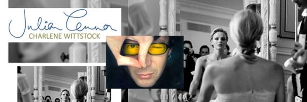 Julian Lennon présente Charlene Wittstock